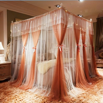 2020 NEW Square Mosquito Net Lace Bed Mosquito Insect Netting Mesh Canopy Princess Size Bedding Net Dropshipping