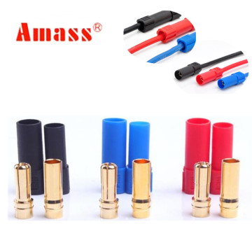 1 pair XT150 AMASS Connector Adapter 6mm Male/Female Plug High Rated Amps For RC LiPo Battery 20%Off