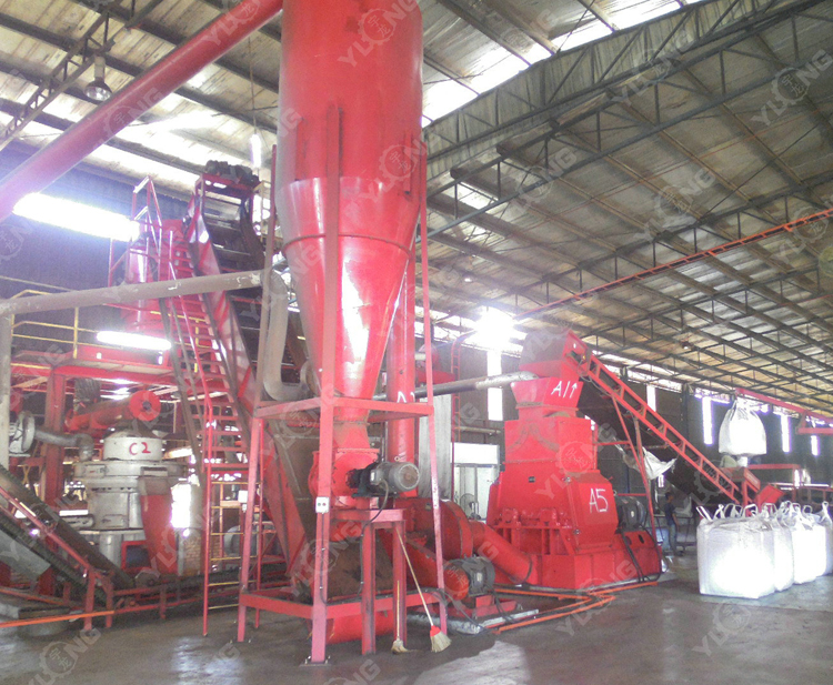 Palm Fibre Hammer Mill