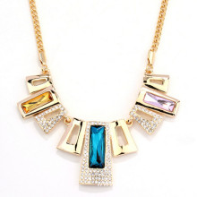 Wholesale gold rhinestone choker collar necklace