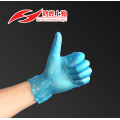 non-sterile blue nine length powder free vinyl glove