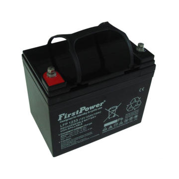 PVC Main powerReserve GEL Battery 12V33AH