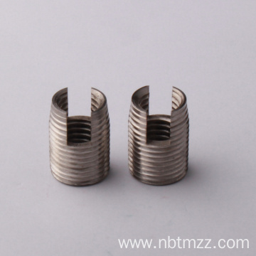 coil inserts for damaged iron screw holes