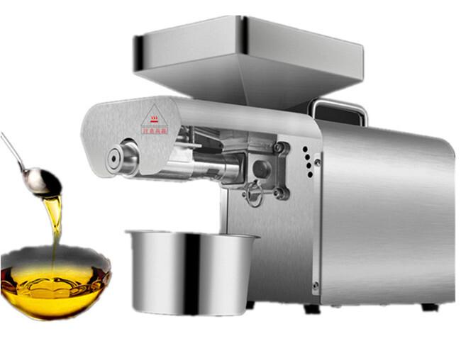 Small mini oil press oil expeller presser oil pressure machine_
