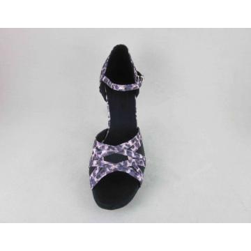 Ladies dancing salsa shoes