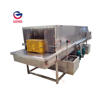 Industrial Vegetable Crates Cleaning Machine Pallet Cleaning