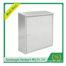 SMB-009SS Hot sale stainless steel letterbox with newspaper holder with great price