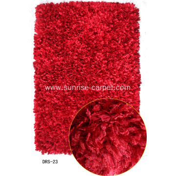 Polyester Elastic Feather Silk Shaggy Rug