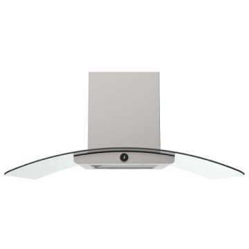 100cm Island Premium Cooker Hood in Stainless Steel