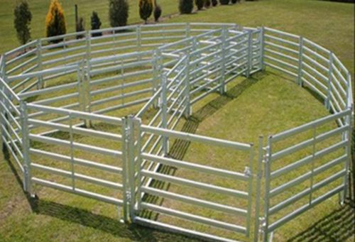 Galvanized Livestock Metal Fence Panel