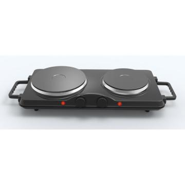 GS conform 2500W Twin Cast-iron Heating Plate