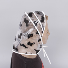 Promotional Fashion PE Rain Hood Rain Bonnet
