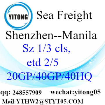 Shenzhen Shipping to Manila