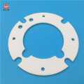 customized insulated alumina ceramic disk plate planchet