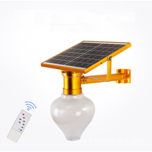 Apple shape 6V10W 10000MAH Garden Solar Light