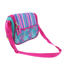 Custom Printed Bag Insulated Zippered Messenger Cooler Bag