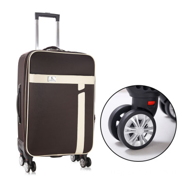 Lightweight waterproof oxford luggage with removable wheels