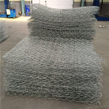 hexagonal netting gabion basket for stone wall