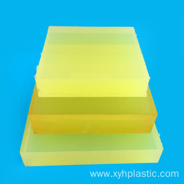 High Performance Cast Mold PU Rubber Sheet