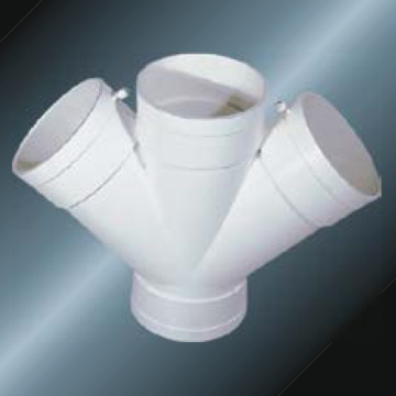 Bs5255/4514 Drainage Upvc Y-cross Grey Color