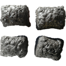 Self-baking Electrode Paste briquettes for FeCr smelting furnaces