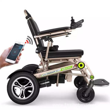 Fully automatic folding wheelchair