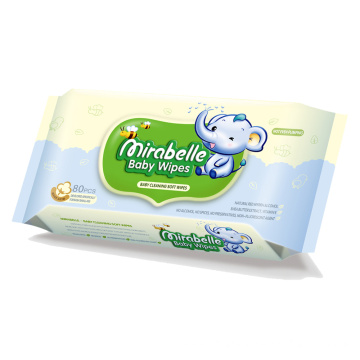 100% Purified Water Natural Baby Wipes