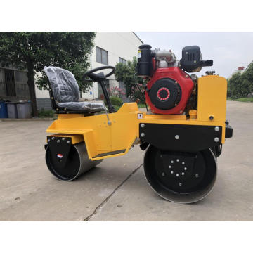 CE certified small ride-on road roller