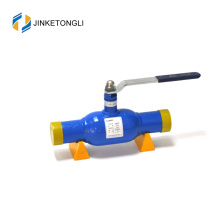 JKTL hot sale 150lbs ss reduced bore gas pipeline ball valves dn32 with high quality
