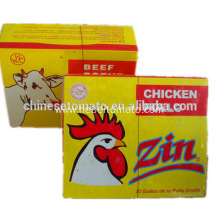 different size chicken cube adn powder