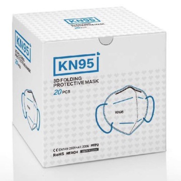 Anti dust foldable KN95 mask breathing disposable