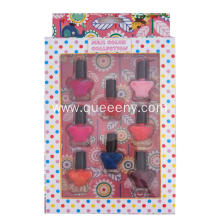 8 bottles Cute cartoon Nail Polish