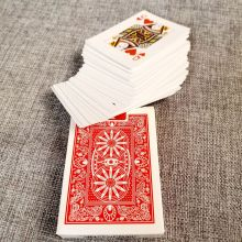 Custom Logo Printing Paper Game Playing Poker Cards