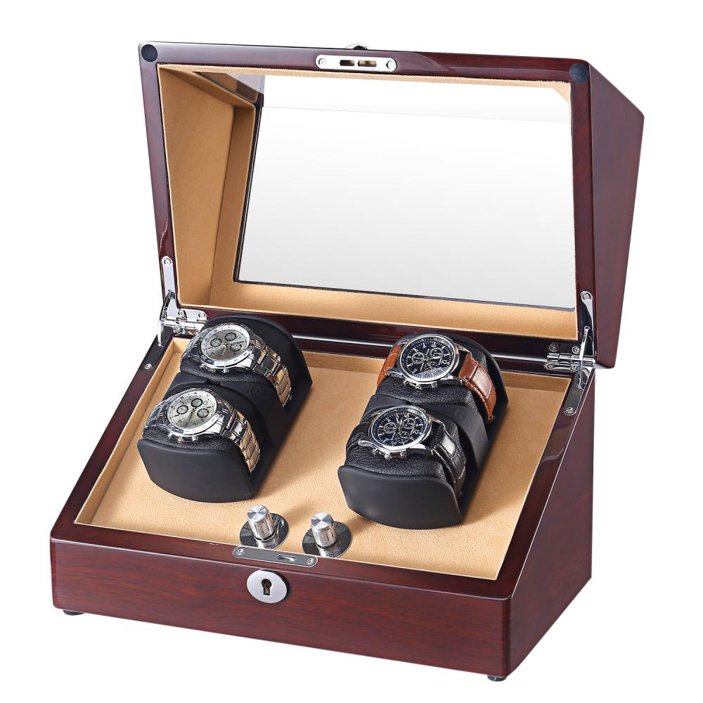 Ww 8117 Walnut Double Rotors Watch Box