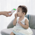 Portable touch-free infrared forehead kid thermometer