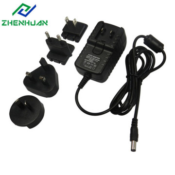 30VDC 1A 30W Multiple AC Power Supply Adapters