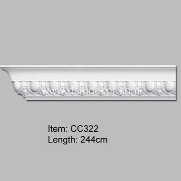 PU Cornice Moulding for Home Decoration