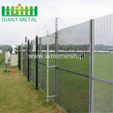 Steel Security 358 Anti-climb Wire Mesh Fence