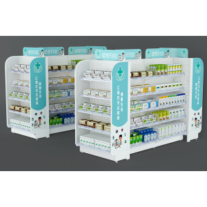 High Quality Pharmacy Display Shelf
