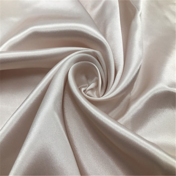 White satin fabric for bedding set