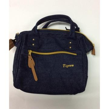 Practical denim casual tote bag