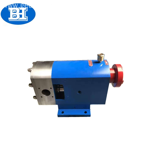 3RP series stainless steel sugar syrup rotary lobe pump