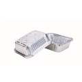 Disposable aluminum foil Container with lid