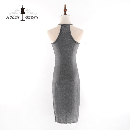 New Arrival Polyester Women Sleeveless Party Sexy Dresses