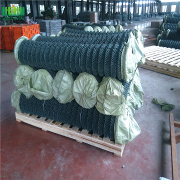 USED PVC coated diamond wire fence