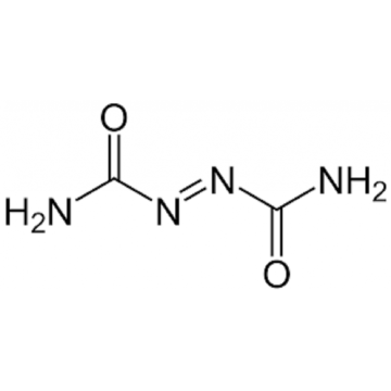 azodicarbonamide blowing agents for crosslinked polyethylene