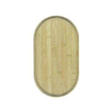 oval wooden cutting board