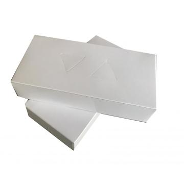 Box tissue facial paper