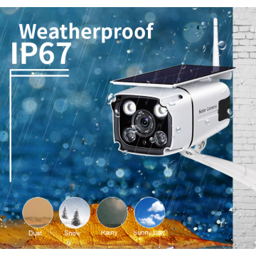 4G IP Camera Outdoor Solar CCTV Camera