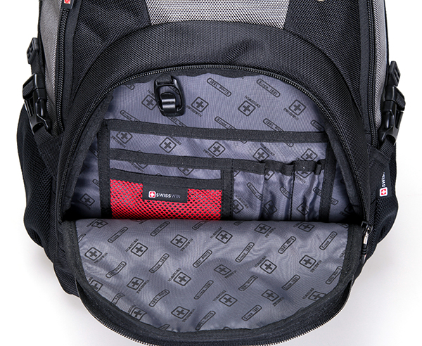 Black and Dark Grey Backpack